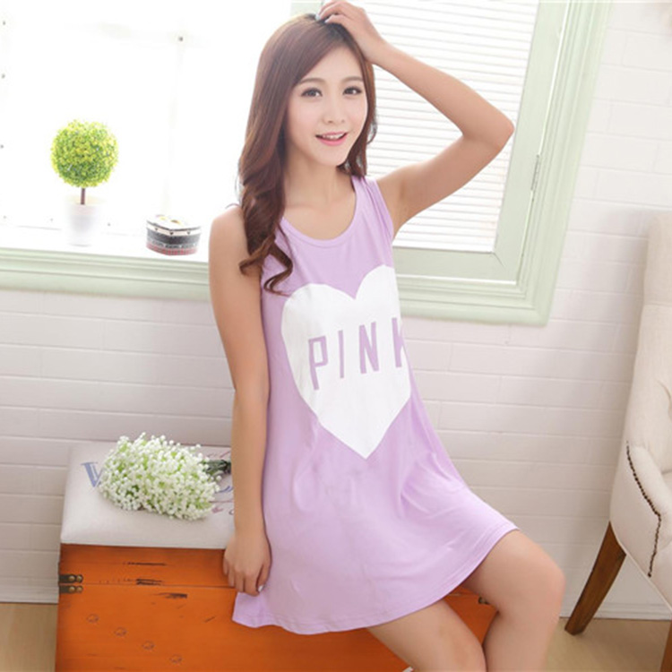 Summer pajama sets pajamas women cute sleeveless sleepwear for Cute homeware accessories