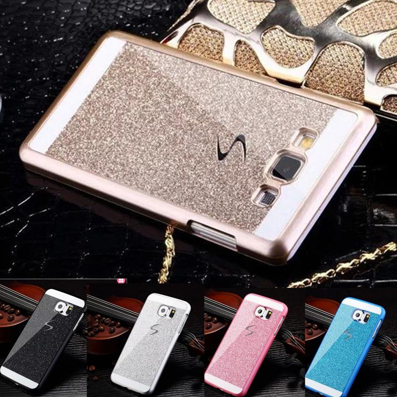 iphone 5 5s SE 6 6S 7 Plus Samsung Galaxy A3 A5 A7 S4 S5 S6 S7 edge j5 j7 A310 A510 2016 G530 Bling Glitter cover Case - WIN/WIN Store store