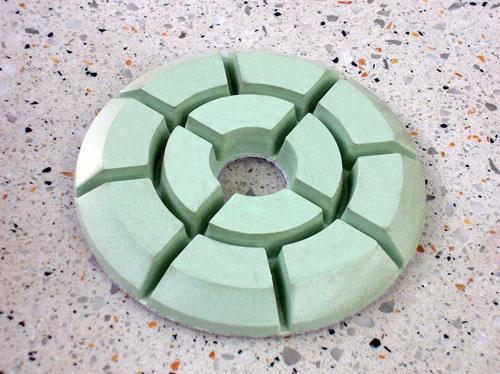 10mm Thickness 4 inch (100mm) Diamond Floor Polishing Pad Granite, Marble, Concret, Terrazzo - New Zuan Tools Co., Ltd. store