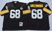 New Black 33 Hoge Throwback 20 Rocky Bleier 68 L.C Greenwood 58 Jack Lambert 31 Donnie 26 Rod Woodson 23 Mike Wagner(China (Mainland))