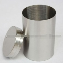 Stainless steel tank travel small caddy food bottles cotton tank cylindrical canister spice bottles(China (Mainland))
