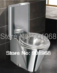 High quality-home-hotel-bar-bathroom furniture S-trap stainless steel toilet bowl-toilet-WC pan