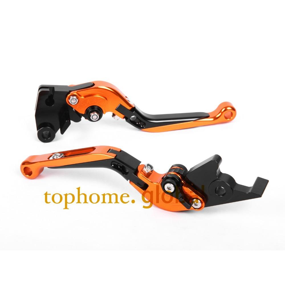 CNC Folding&amp;Extending Brake Clutch Levers For KTM 990 SMT SUPERMOTO T 2009-2012 Motorcycle Accessories Orange&amp;Black&amp;Orange<br><br>Aliexpress