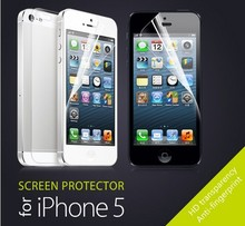 40 PCS/LOT=20 pcs Front + 20 pcs Back HD Clear Films Glossy Guard LCD Screen Protector Film For Apple iPhone 5 5s 5G Hot sale