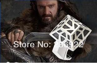 Hot Free shipping wholesale 20pcs/lot Hobbit ring THORIN OAKENSHIELD Dwarven Silver Ring Men jewelry,original factory supply<br><br>Aliexpress