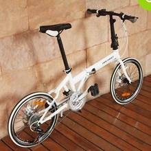 HACHIKO 20-inch 21-speed, dual disc brakes, folding bicycles(China (Mainland))