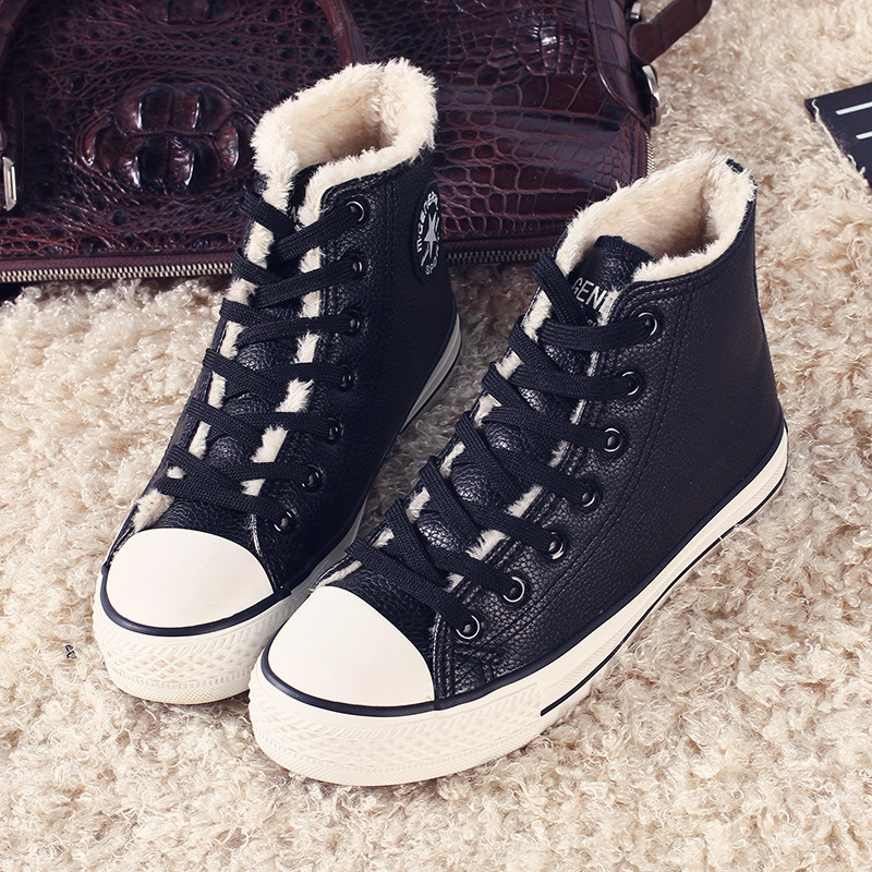 winter womens casual student  shoes 2015 classical design high top female leisure shoes winter zapatillas de deporte femenino<br><br>Aliexpress