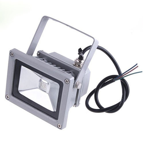 Waterproof 10W 20W 30W 85-265V High Power Warm White/Cool White LED Flood light Outdoor Lamp Retail & Wholesale(China (Mainland))