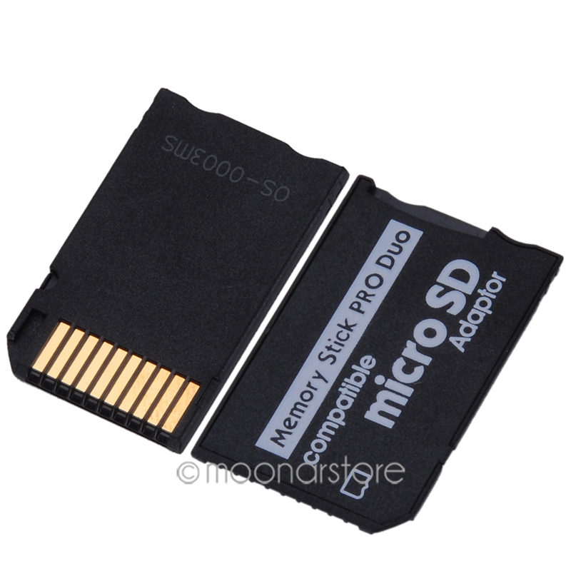 Mini Micro SD Card Adapter to MS Card TF Card Reader Memory Stick MS Pro Duo