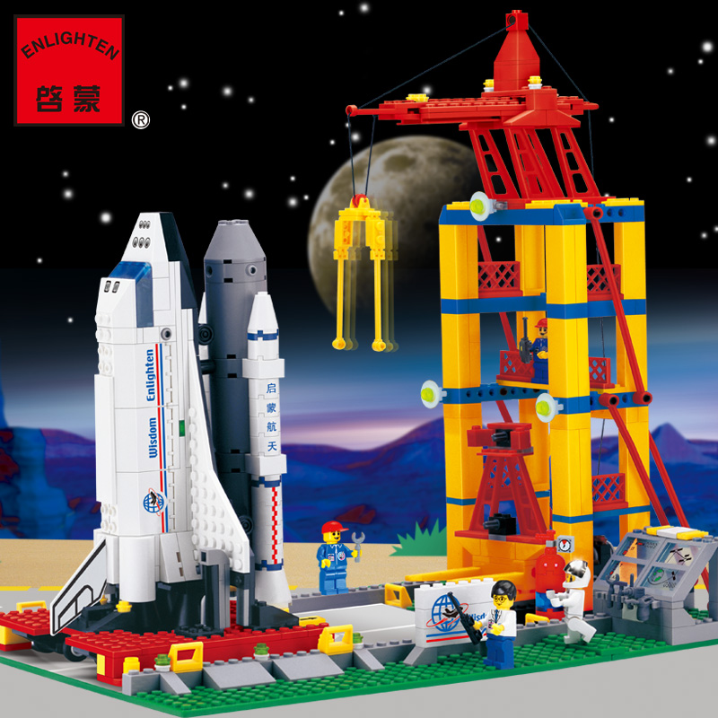 building block set compatible with lego aviation Space shuttle launch base 3D Construction Brick Educational Hobbie Toys for Kid<br><br>Aliexpress