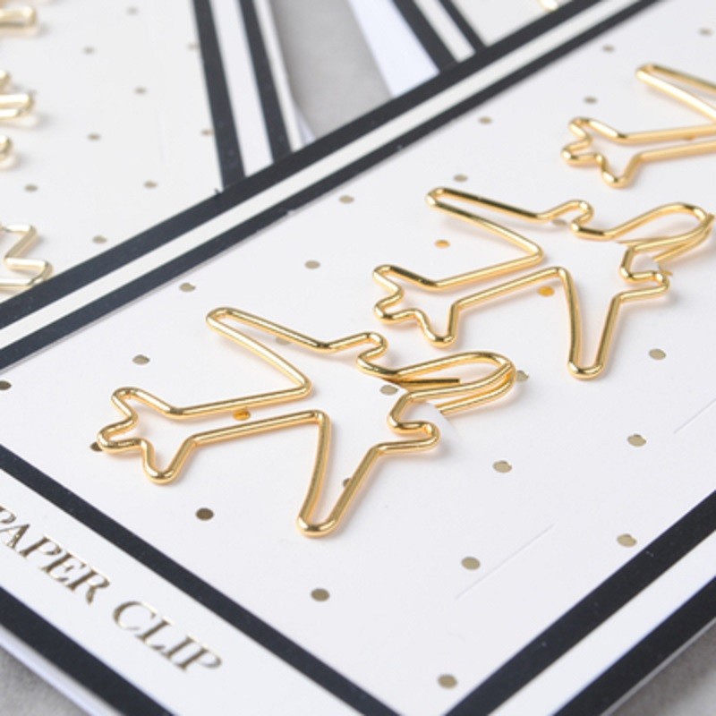 Free shipping gold pin paper clip metal clip Bookmarks storage office accessories gold pink bow book mark cute bow paper clips(China (Mainland))