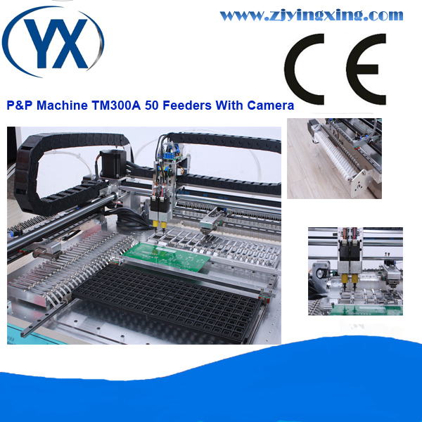 Hot Hot Selling With 50feeders Smt Pick and Place Machine and Pick and Place SMT Equipment for 0402,0805,QFN,QFP,BGA(China (Mainland))