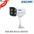 ESCAM Brick QD300 and QD300WIFI 1MP HD onvif Network Mini wireless IR Bullet Camera IR 15m