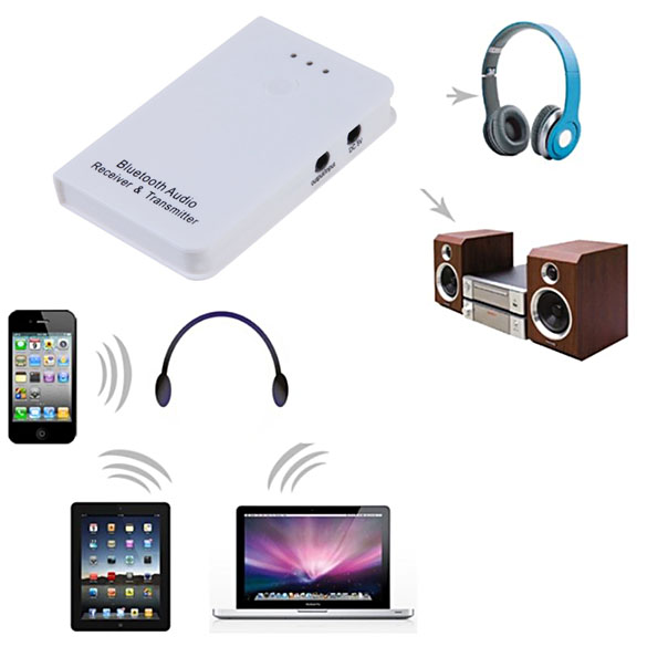 2In1 Wireless Bluetooth Audio Music Streaming Receiver And Transmitter Nice NIE#(China (Mainland))