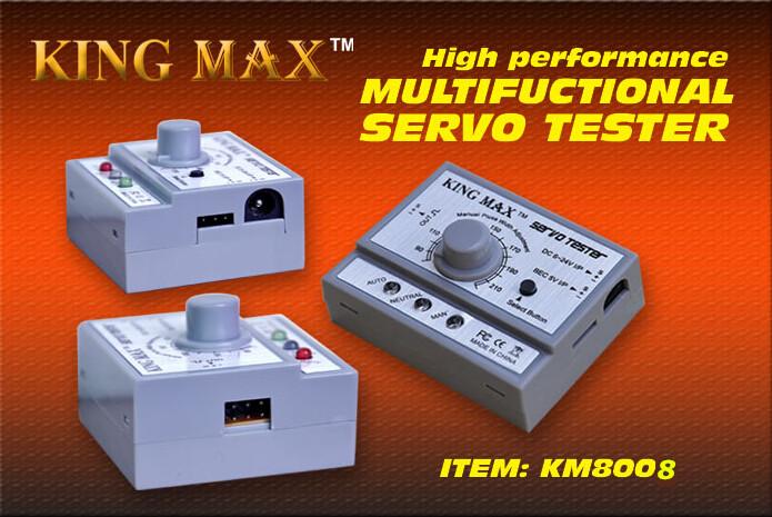 Kingmax Multifunctional Servo Tester 50.5mm*40mm*24mm(China (Mainland))