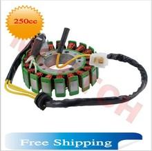 18 в постоянного тока катушки магнето статора для GY6 250cc CF250 CH250 роллер мопед ATV ( бесплатная доставка )