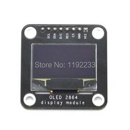 Электронные компоненты 5pcs/oled/0.96 128 * 64 OLED display module telesky 2 42 inch 128 x 64 oled display module spi serial for arduino