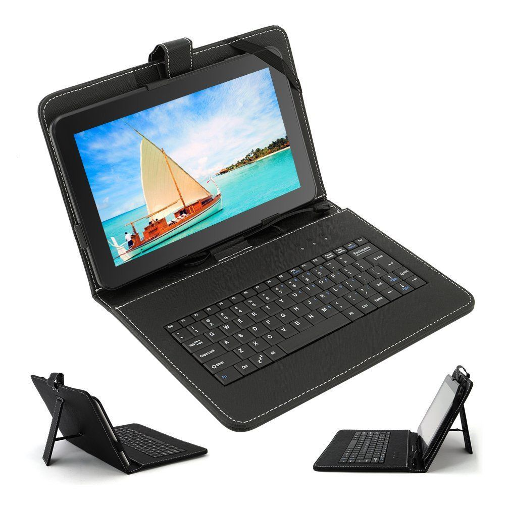 Qual Core tablet pc 10 inch 8GB Boda GOOGLE ANDROID Kik 4.4 TABLET PC CAPACITIVE SCREEN E READER PAD TAB Bundle Keyboard(China (Mainland))