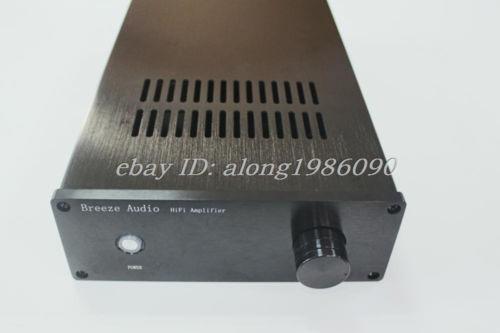 Haoli Black front 1907-B Aluminum Power amp Enclosure /mini amplifier BOX Case DIY-sn(China (Mainland))