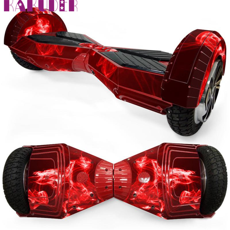 8in Self Balancing Scooter Hoverboard Protective Vinyl Skin Decal for 2 Wheels pelicula filme quality fashion new play 17may8(China (Mainland))
