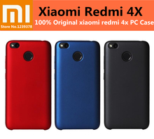 100% Original Xiaomi Redmi 4X Case Velvet Quality PC Material Back Cover For xiaomi hongmi redmi 4x Phone Cases Protective shell(China (Mainland))