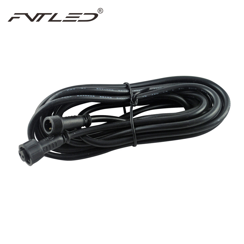 Street Light Electric Power Cable Connect : Pin meter ip waterproof extension cable connect wire