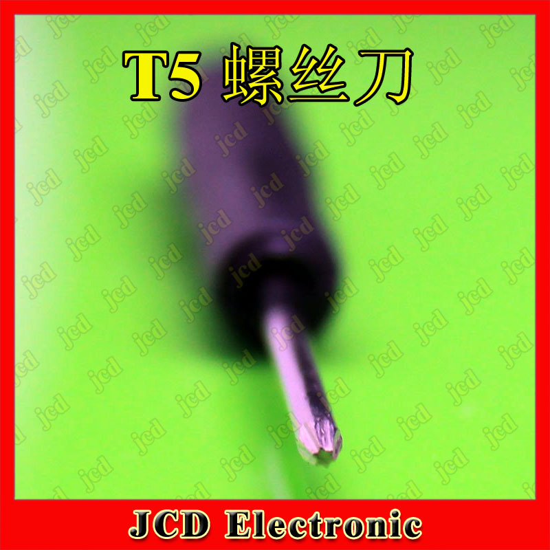 T5 screwdriver mini screwdriver hand tool for repairing(China (Mainland))