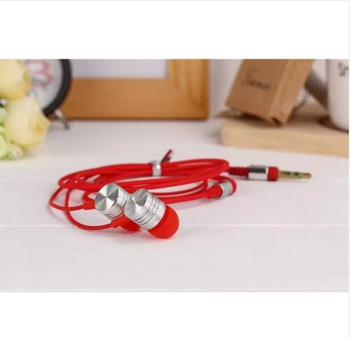 Best selling stereo 3.5mm versatile In Ear earphone candy color cellphone earplugs wired low price wholesale(China (Mainland))