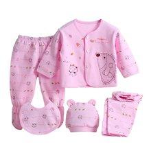 5 Pieces/set Newborn Baby Clothing Set Brand Boy/Girl Clothes 100% Cotton Cartoon Underwear 0-3M P4 - Froomer Show store