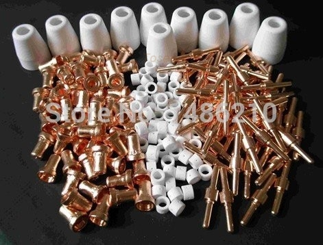 Fashionable Welding Torch supplies KIT of Cut40 50D CT312 soldering iron special nozzle electrodes TIPS Extended Spare parts(China (Mainland))