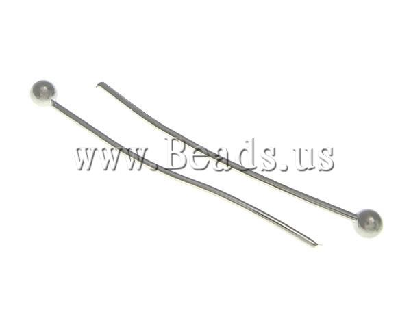 Free shipping!!!Brass Headpin,Brand, platinum color plated, nkel, lead &amp; cadmium free, 30x1.80x0.50mm, 10000PC/Ba, Sold By Ba<br><br>Aliexpress