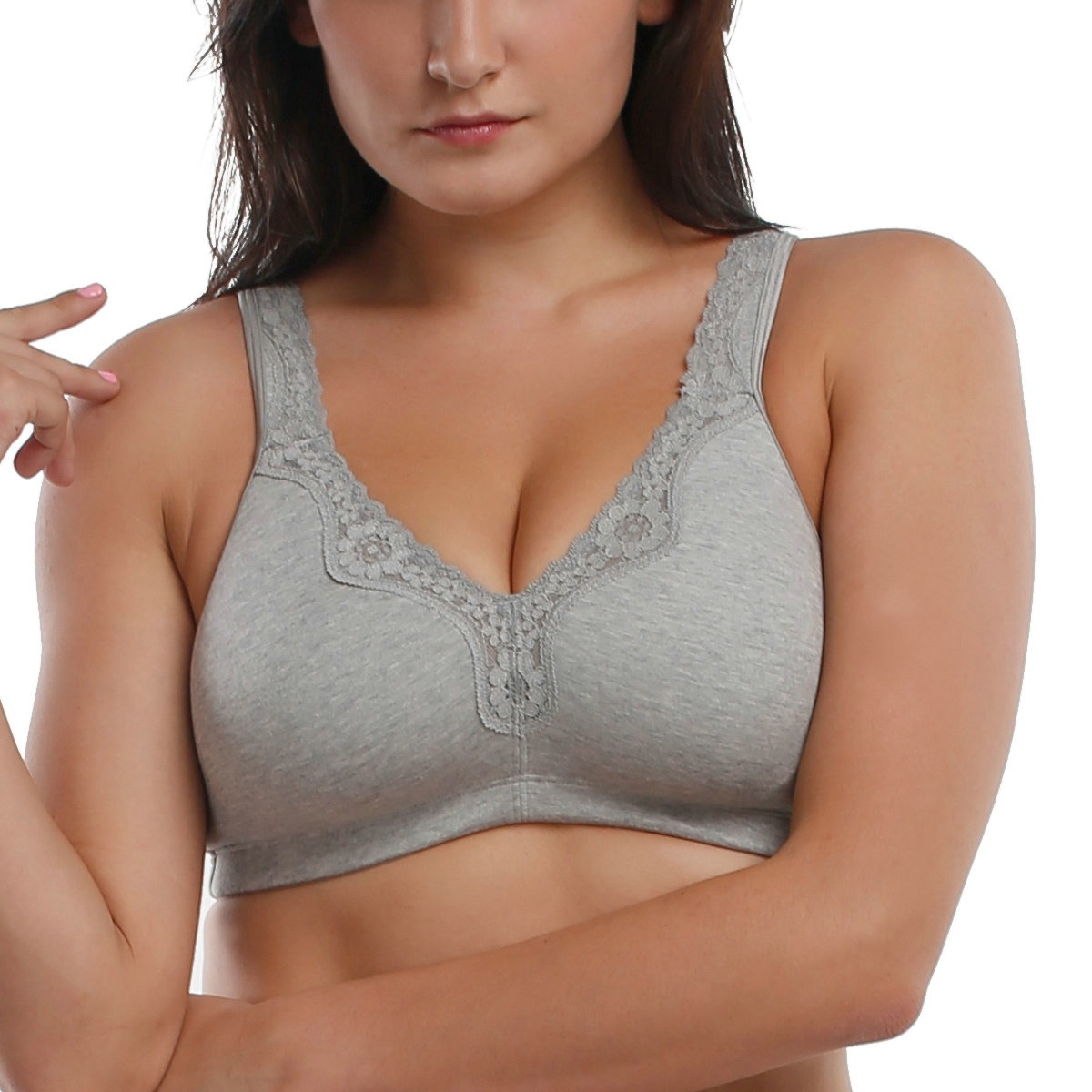 I am an odd size (32H), so it is hard to find bras that fit, that are comfortable. The only negative I can say it the straps tend to slip out on my shoulders when wearing tank tops, I think where the straps connect to the band are further out than most bras.