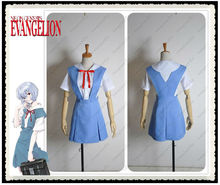 Evangelion EVA School Summer Uniform Cosplay Costume