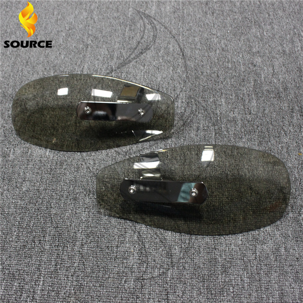 motorcycle wind shield handle hand guards ABS motocross transparent handguards FOR Suzuki GSX1400 GSF650 GSF1200 GSF1250(China (Mainland))