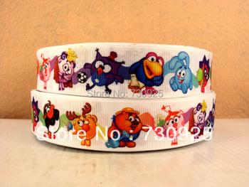 5Y9603 kerryribbon free shipping 1'' printed ribbon Grosgrain ribbon mini order$ 6.00