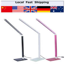 Energy Saving LED Table Desk Lamps Office Table lamp Student Reading Lamps Study Lamp Fashion Lights(Hong Kong)