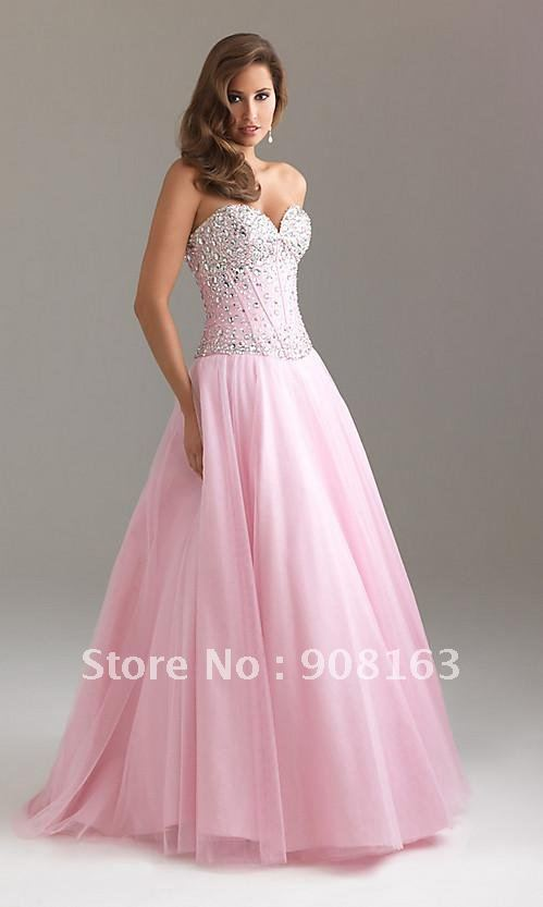 Lace Corset Prom Dress - Ocodea.com