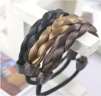 fashion wig twisted headband hair rope hair band (ZM-8131)