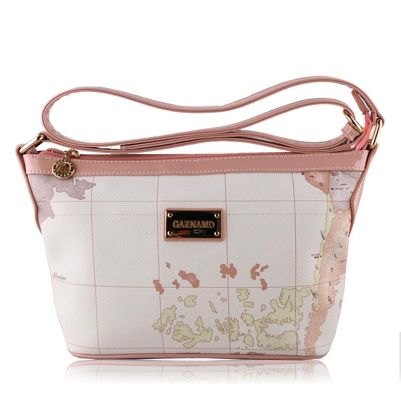 Summer 2016 women's handbag messenger bag small bag map women's mini handbag shoulder bag(China (Mainland))