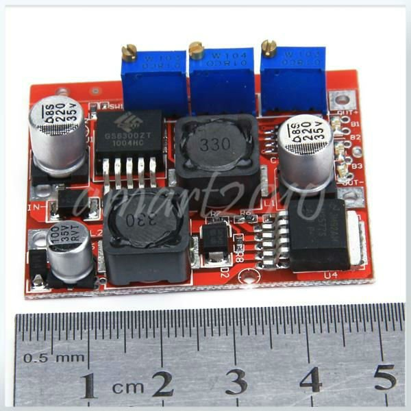 LM2577 LM2596 DC Adjustable Step Power Module Supply 4V-35V Battery LED Current - Electronic Zone's store