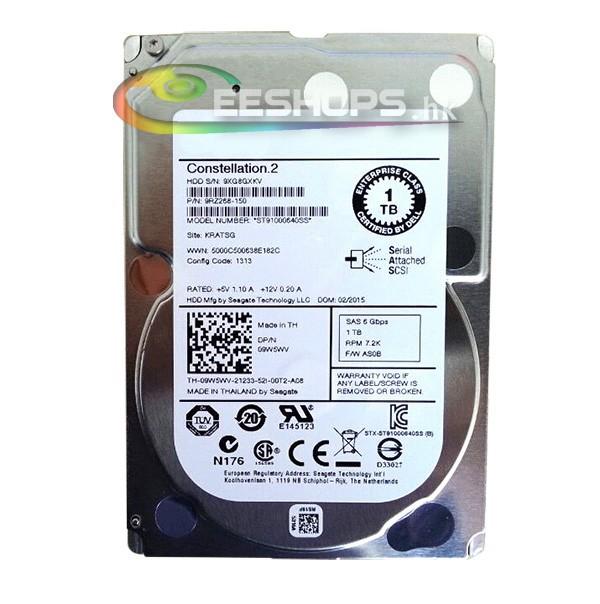 "New Best 1TB Internal SATA Hard Drive SAS 7.2K RPM 64MB 2.5"" 6Gb/s HDD Drives for Dell PowerEdge T710 T610 T410 T310 T620 Server(Hong Kong)"