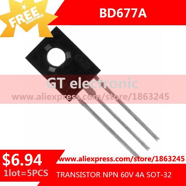 BD677A транзистор NPN 60 В