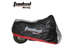 Tanked motorcycle covering,scooter cover,heavy racing bike cover tanked szie S M L XL XXL silverand black silver(China (Mainland))