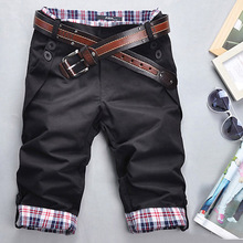 Free Shipping 2016 Fashion Brand Men s Casual Short Pants Summer font b Plaid b font