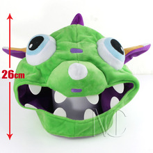 2016 New! High quality LOL Gnar 26 cm Plush Hat lol Cosplay for Gamer Chirstmas gift for children(China (Mainland))
