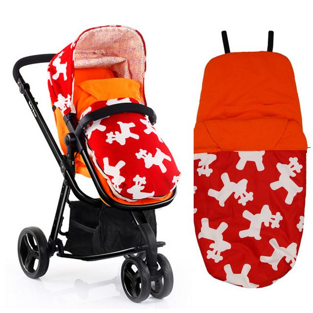 теплый коляска спальный мешок Высокое качество флиса спальный мешок конверт для новорожденных ...