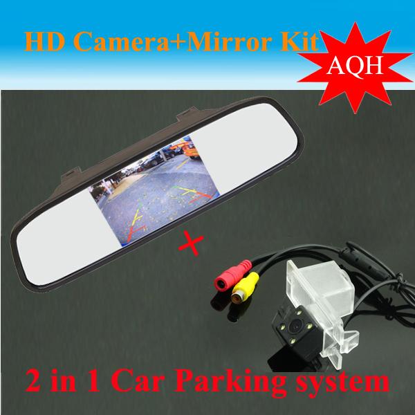 Promotion Auto parking System for SsangYong Kyron Rexton II new Actyon Korando  CCD Car Rear View Camera + HD Car rear Mirror<br><br>Aliexpress