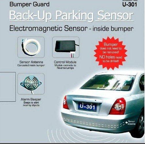 LED Electromagnetic parking sensor no holes and parking sensor,parking assistant system, reverse sensor Free Shipping
