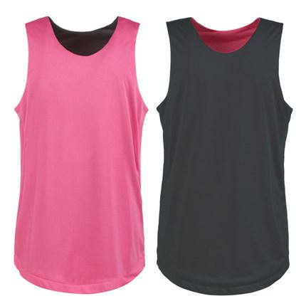 5pcs/lot Double-faced Men's Women's Uniform Customized LOGO Print S-5XL Breathable Blank Panel Basketball Match Vest Jersey(China (Mainland))