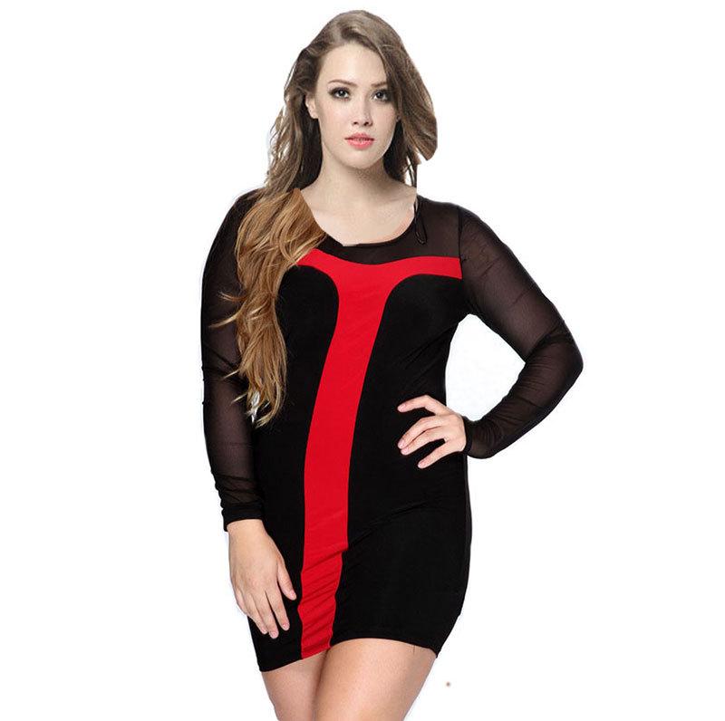 Elegant Women Plus Size Women Vestidos Dresses 6XL Large Big Size Lady Black